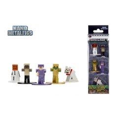 Figurine- Minecraft - Set 5 figurine metalice
