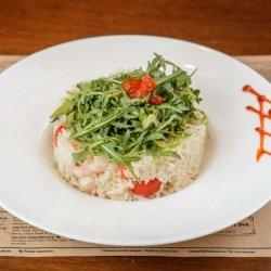 Creveți cu orez și gorgonzola image