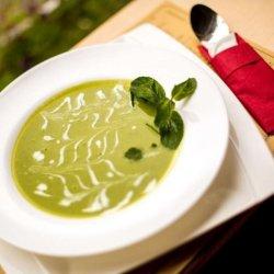 Supă cremă verde image
