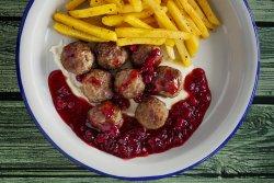 Chifteluțe suedeze cu garnitură image