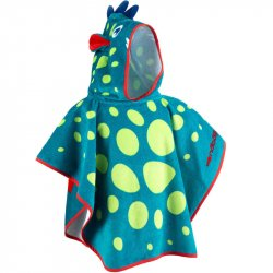Poncho cu glugă Dragon Copii
