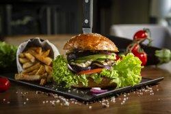 No meat burger image