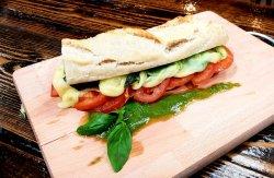 Capresse sandwich– vegetarian  image