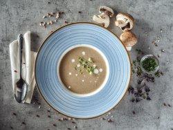 Zuppa crema di funghi al tartufo image
