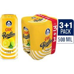 Bere 1.9% alcool cu limonada 3+1x500ml Ciuc Radler image