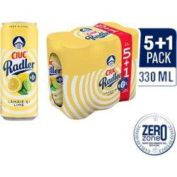 Bere fara alcool cu limonada 5+1x330ml Ciuc Radler image