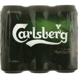 Bere blonda 6x0.5L Carlsberg image