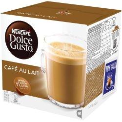 Cafea Cafe au lait, 16 capsule Dolce Gusto Nescafe image