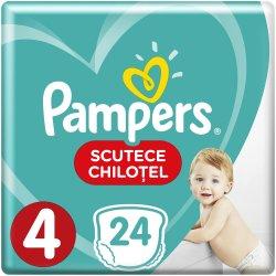 Scutece-chilotel bebelusi Marimea 4, 9-15 kg, 24 buc Pants Pampers image