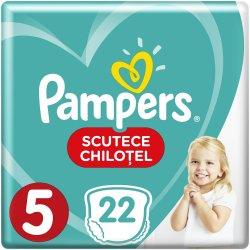 Scutece-chilotel bebelusi Marimea 5, 12-17 kg, 22 buc Pants Pampers image