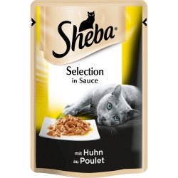 Hrana umeda pentru pisici, cu pui 85g Sheba image