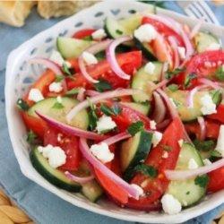 Salată de vară cu brânză image