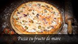 Pizza cu fructe de mare image