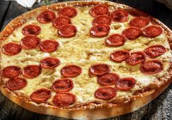 Peperoni classic Blat pufos mare (38 cm) image