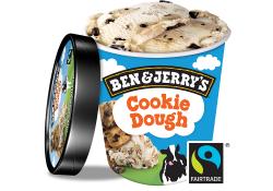 Ben & jerrys cookie dough image