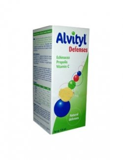 ALVITYL DEFENSES SIROP 120ML image