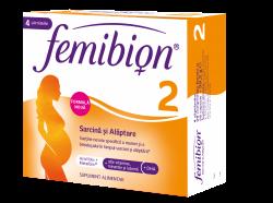 FEMIBION 2 SARCINA SANATOASA 30CPR FILMATE + 30CPS image
