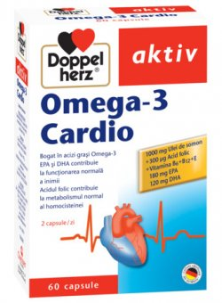 DOPPELHERZ AKTIV OMEGA-3 CARDIO 60CPS image