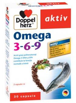 DOPPELHERZ AKTIV OMEGA 3-6-9 30CPS image