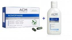 ACM NOVOPHANE PAR SI UNGHII 60CPS + SAMPON NUTRITIV CADOU image