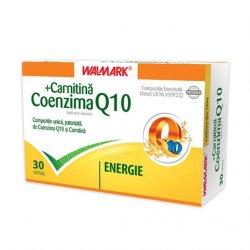 WALMARK COENZIMA Q10 + CARNITINA 30CPS image