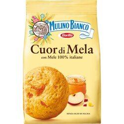 Biscuiti cu gem de mere cuor di mela Mulino Bianco, 250g image