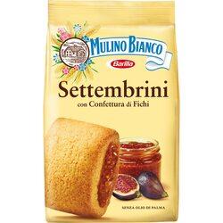 Biscuiti cu smochine settembrini Mulino Bianco, 250g image