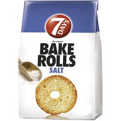 Rondele de paine cu sare Bake Rolls, 80g image