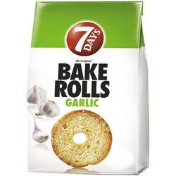 Rondele de paine cu usturoi Bake Rolls, 160g image