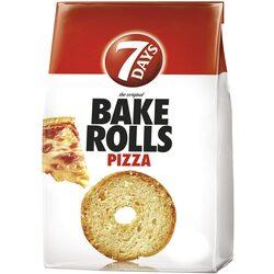 Rondele de paine cu pizza Bake Rolls, 160g image