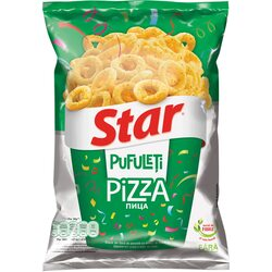 Pufuleti cu aroma de pizza Star, 90g image