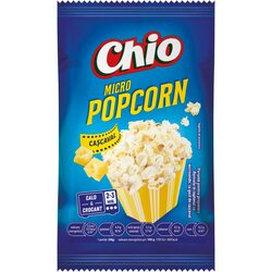 Popcorn cu gust de cascaval Chio, pentru microunde, 80g image
