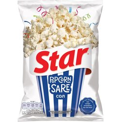 Popcorn cu sare Star, 87g image