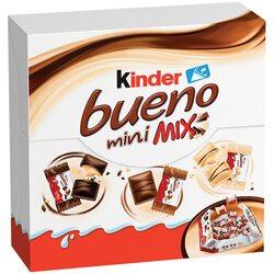 Mix de ciocolata mini Kinder Bueno Choco, Dark si White, 130g image