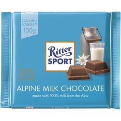 Ciocolata Ritter cu lapte alpin, 100 gr. image