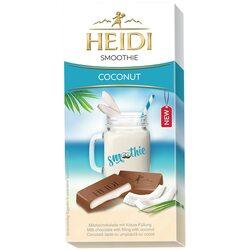 Ciocolata lapte Heidi Smoothie Coconut cu umplutura cu cocos 90 gr. image