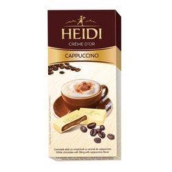 Ciocolata alba Heidi cu umplutura cappuccino 90 gr. image