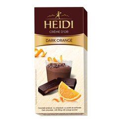 Ciocolata amaruie Heidi Dark cu umplutura de portocale 90 gr. image