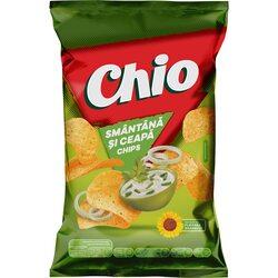 Chipsuri cu gust de smantana si ceapa Chio, 140g image