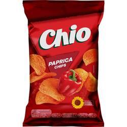 Chipsuri cu gust de ardei gras Chio, 140g image