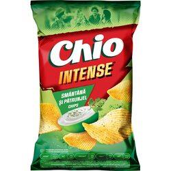 Chipsuri cu gust de smantana si ierburi Chio Intense, 130g image