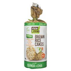 Rondele cu Chia & Quinoa, fara gluten 120g RICE UP image
