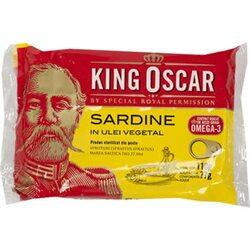Sardine baltice in ulei King Oscar, 110 gr. image
