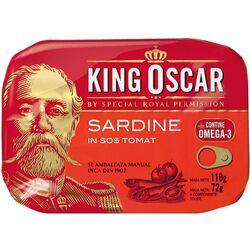 Sardine baltice in sos tomat King Oscar, 110 gr. image