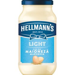 Sos de maioneza, light, Hellmann`s, 420ml image