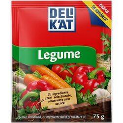Baza de mancare Delikat, Gust de legume, 75g image