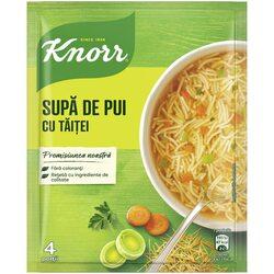 Supa de pui cu taitei Knorr, 59g image