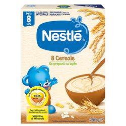 Cereale Nestle 8 Cereale, 250g, de la 8 luni image