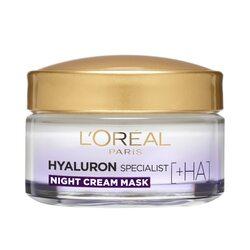Crema antirid de noapte L`Oreal Paris Hyaluron Specialist cu acid hialuronic, 50 ml image