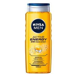 Gel de dus Nivea Men Active Energy, 500 ml image
